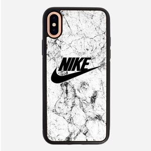 Nike marble iPhone X XS case XR XS Max 8 plus 7 6S